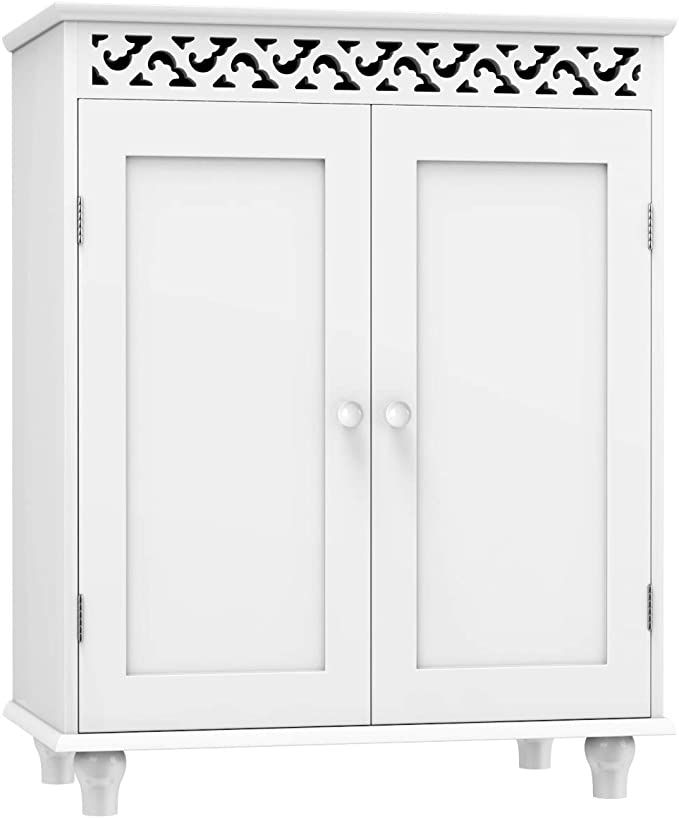 42++ Bathroom cabinet storage floor best