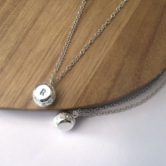 Personalised Mini Macaroon Necklace by ZeldaWong on Etsy