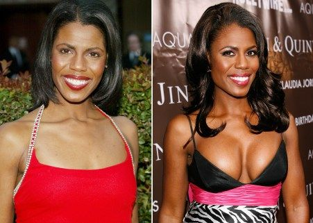 "Omarosa Manigault-Stallworth on her breasts: ""It's such a dramatic difference. I was a negative A cup. I was going concave. Now I'm a small D."""