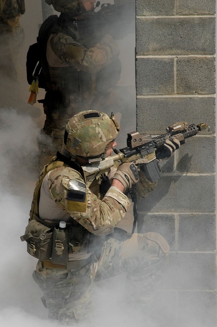 Yes, shoot this brick wall...110504-A-6095H-CAPEXDAY4-5 by USASOC News Service, via Flickr