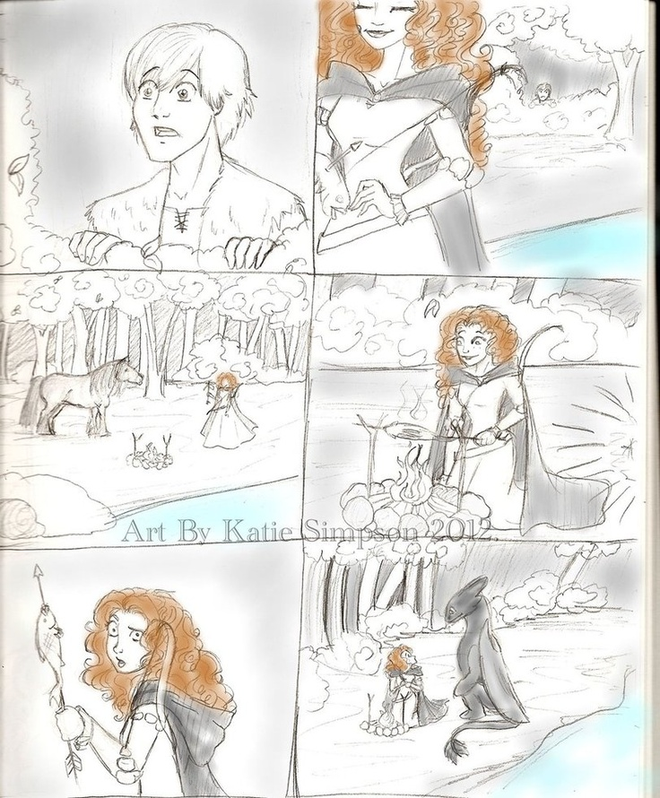 Merida and Hiccup. Seriously, why did they have to put Merida with Hiccup. I'm a Hicstrid fan!