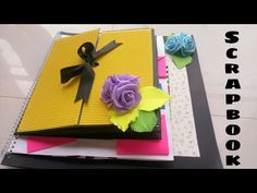 Scrapbook for Boyfriend/ Scrapbook for Someone Special – YouTube
