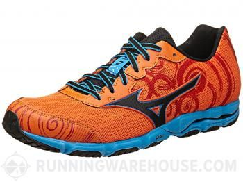 Mizuno Wave Hitogami 2 Men's Shoes Orange/Black/Blue