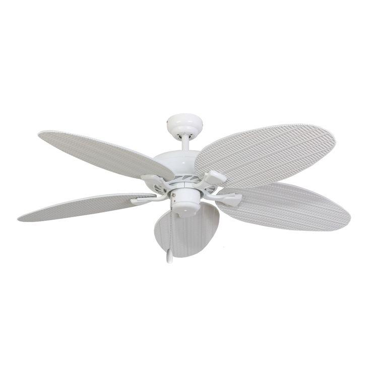 Shop Ecosure Siesta Key 52 Inch Tropical White Bowl Light: Best 25+ Tropical Ceiling Fans Ideas On Pinterest