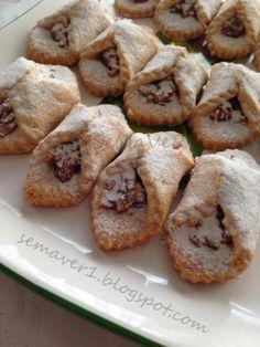 SeMaVeR Kıyır kıyır elmalı kurabiye