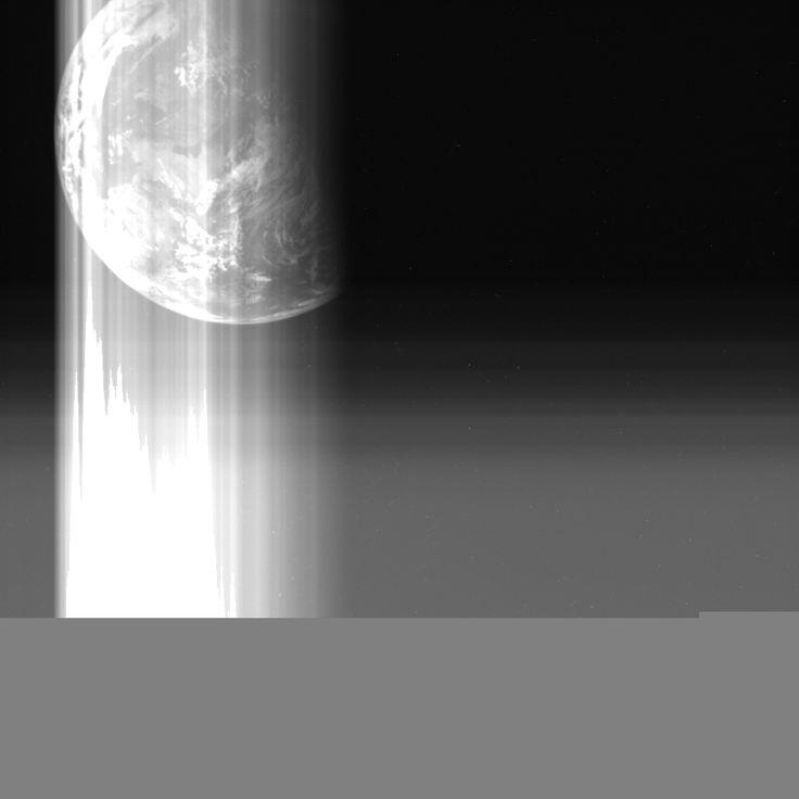 Earth image taken by Hayabusa