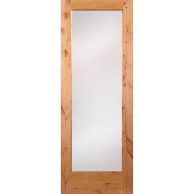 Feather River Doors Privacy Woodgrain 1 Lite Unfinished