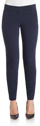 Dkny Mid-Rise Skinny Pants - Shop for women's Pants - Blue Pants
