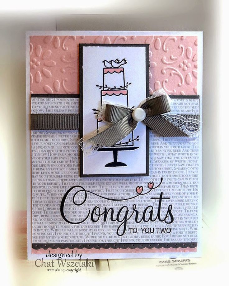 Me, My Stamps and I: Occasions Mini Your Perfect Day - Stamps: Your Perfect Day Paper: Pink Pirouette, Basic Gray, Whisper White, Neutral DSP - Ink: Memento Black, blendabilities - Accessories: Grosgrain ribbon, lace, jumbo brad - Tools: Finial Press EF, Dimesnionals, border punch