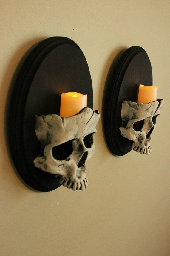 15 diy halloween skull decoration ideas - Small Halloween Decorations