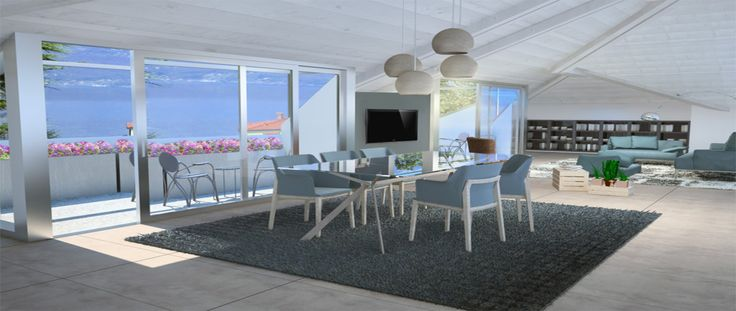 Penthouse Views of Lake Maggiore