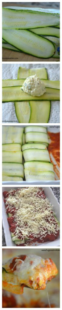 Zucchini Raviolis - Hugs and Cookies XOXO