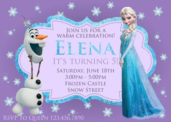 48 best FROZEN6 images on Pinterest Frozen party Birthdays and