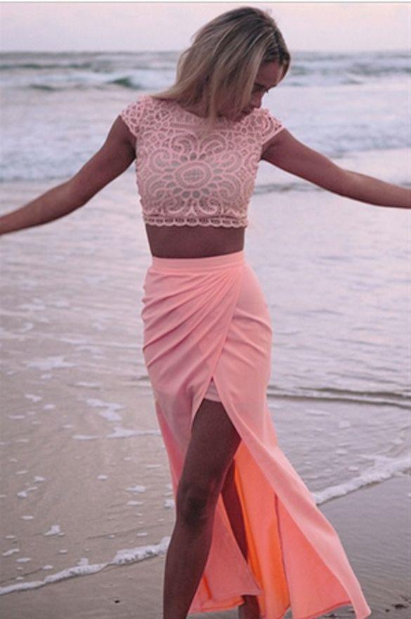 Such a pretty colour, especially with a tan <3