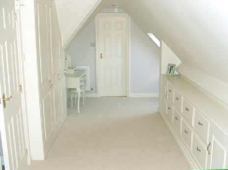 fitted attic bedroom