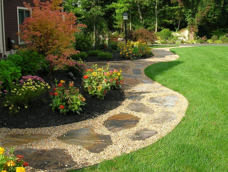 Landscaping Yard Drainage : Landscaping a yard with poor drainage problems