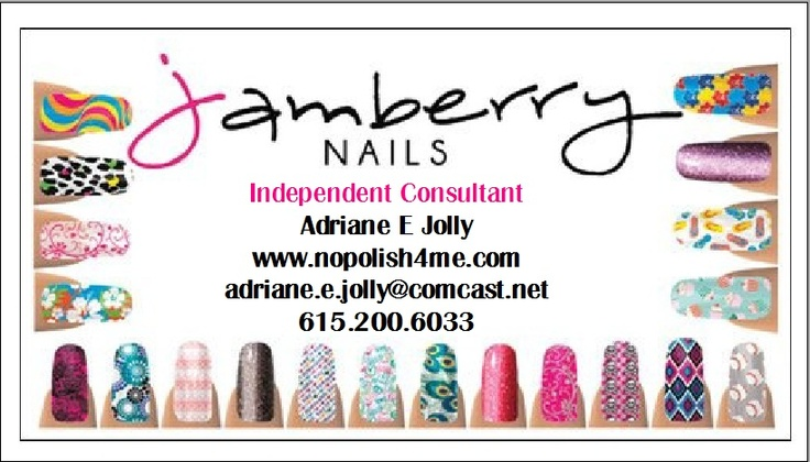 Jamberry nails business cards business card inspiration