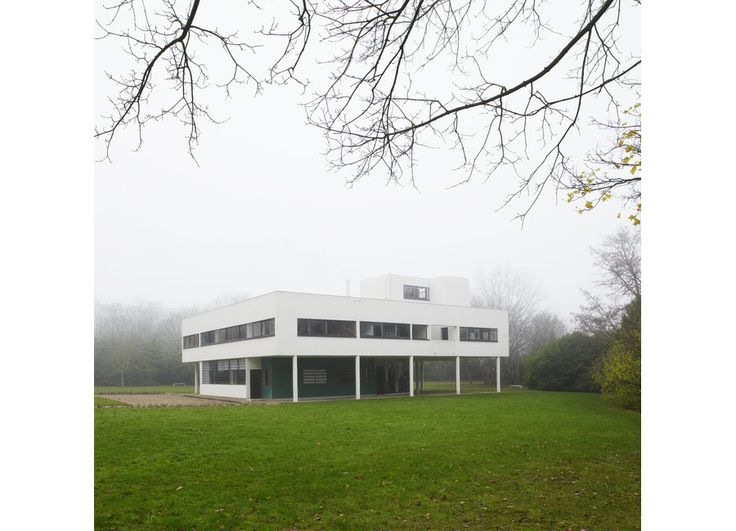 17 best images about villa savoye le corbusier on for Poissy le corbusier