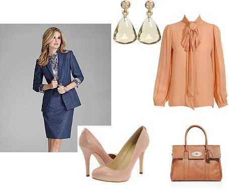 warm spring palette | ... or Navy Suits then add some of you favorite shade from you palette