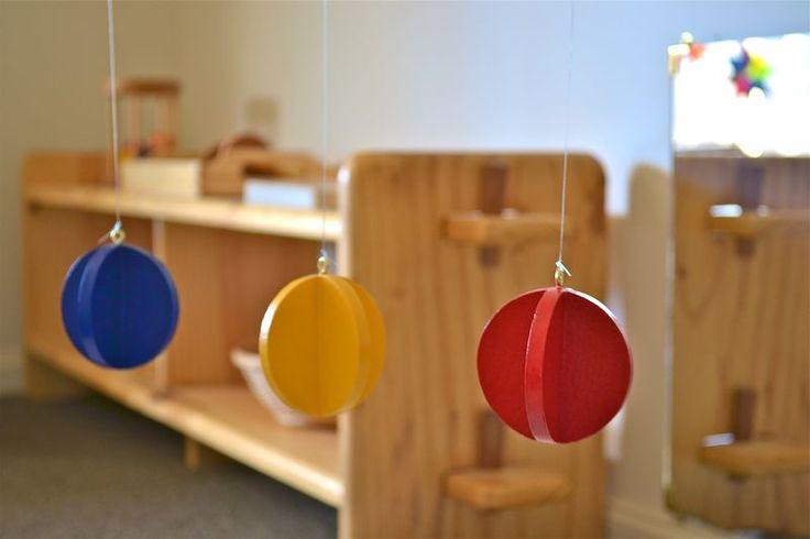 Primary Colours Mobile - Beginning Montessori Materials
