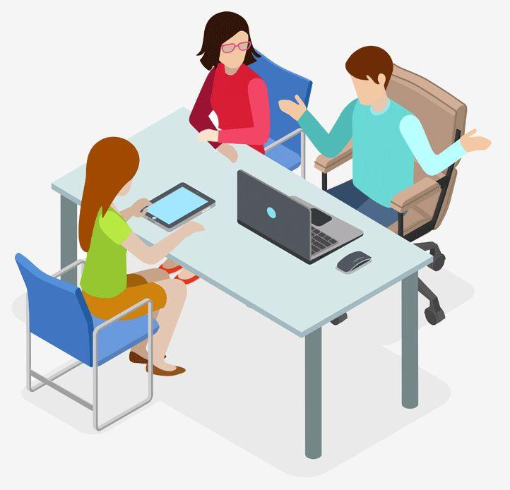 Website The Design Process discussed Free Consultation