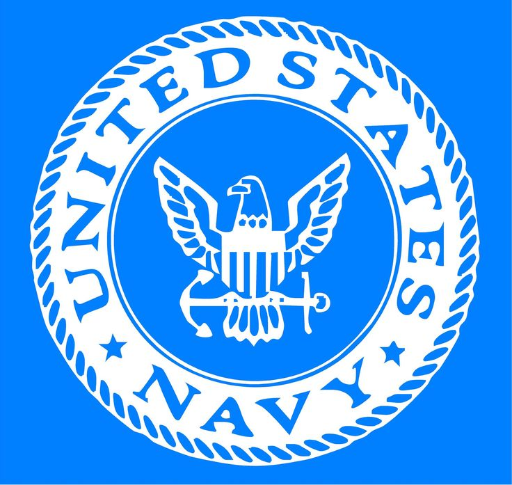 US Navy Emblem Vinyl Decal