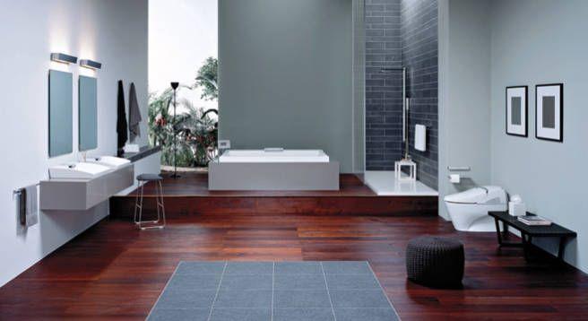 Bathroom Decor at PointClickHome.com – Creating an At-home Spa - ELLE DECOR