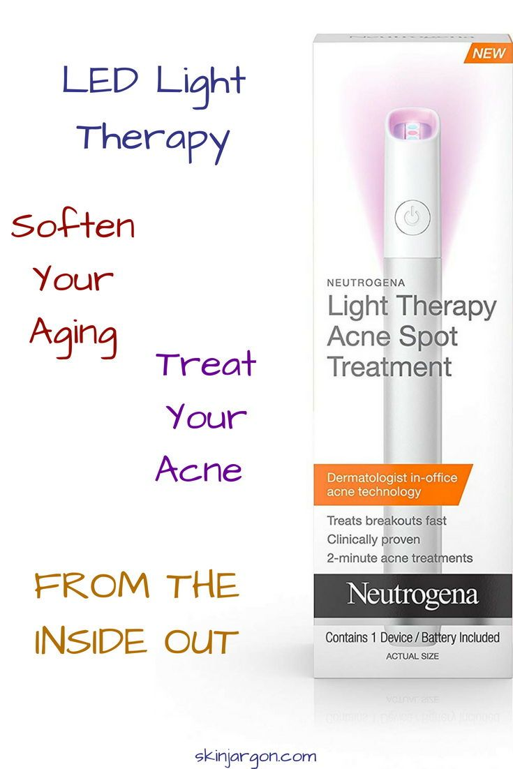 Check Out How Light Therapy Can Help Your Skin Great Deals On