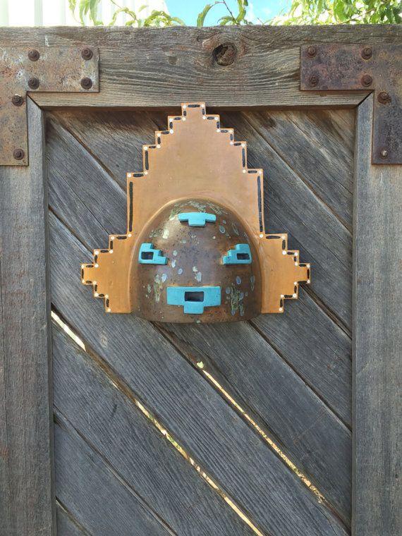 Kachina Southwestern Mask Wall Light wall by CustomCutLighting