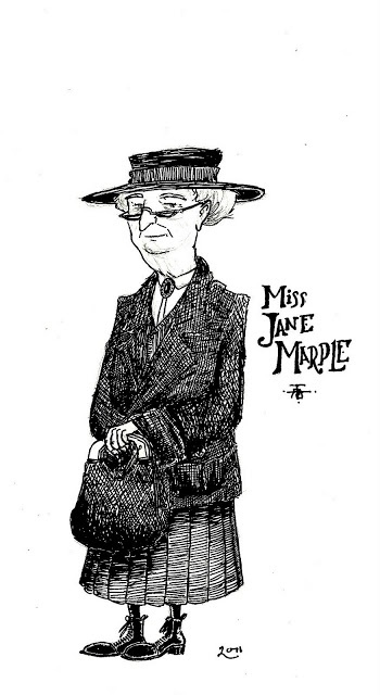 The Brandybard Scrivener: The Detective Scribbles, No. 4, Miss Jane Marple