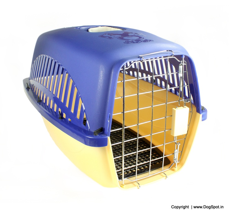 Dog Travel Crate Small- LxWxH - 22x14x14 buy Online Dog Crate http://www.dogspot.in/crates/