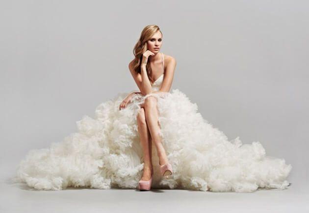 Шаблон для фото - Стройная девушка в красивом платье белом