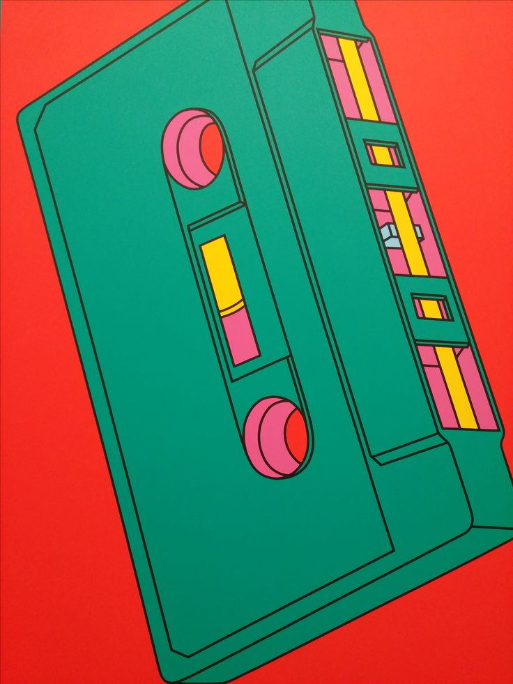 From the Michael Craig-Martin exhibition at the Serpentine Gallery