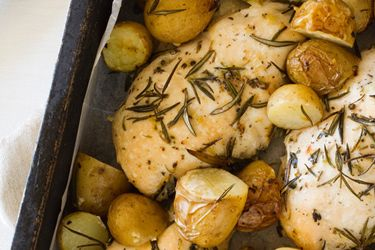 Easy lemon chicken recipe, NZ Woman's Weekly – This great recipe will serve the entire family straight from the pan. – foodhub.co.nz