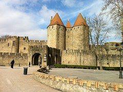 Carcassone, Castillo, Francia, Hito