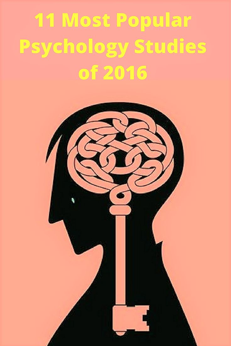 11 Most Popular Psychology Studies of 2016