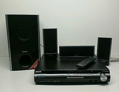 Sony 5-Disc DVD Home Theater System HCD-HDX275 HDMI 1080P w/ 3 Speakers & Sub