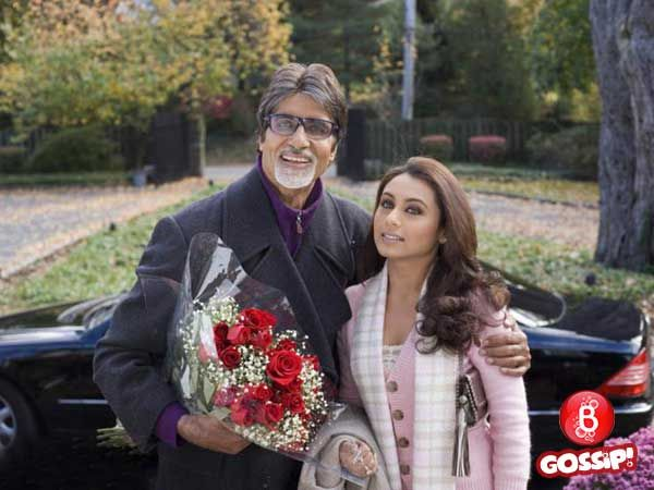 Amitabh Bachchan meets Rani Mukerji on 'Hichki' movie sets. Is he also a part of the movie?