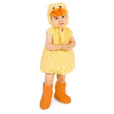 Halloween Duckling Baby Costume - 18-24 Months, Infant Unisex, Yellow