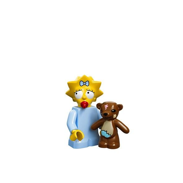 Maggie Simpson - Lego's Latest 'Simpsons' Minifigures Are Diddly-Delightful.