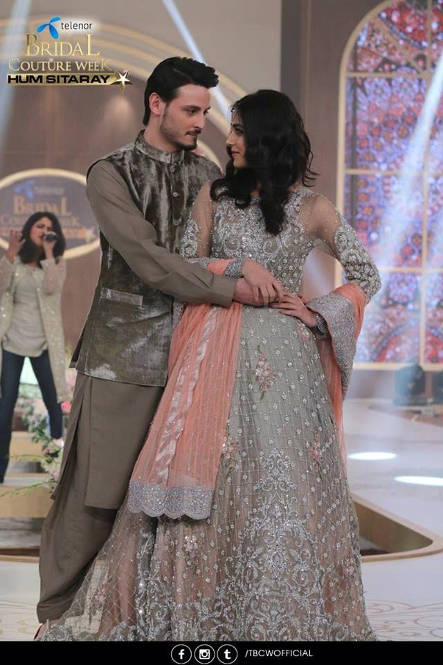 Maya Ali and Osman Khalid Butt romanced on ramp
