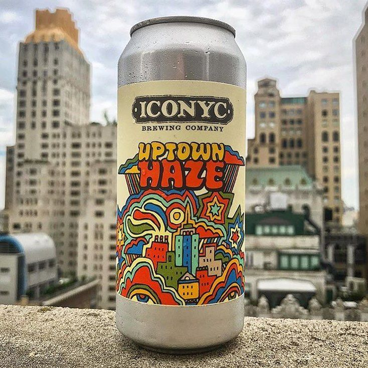 NEW LABEL DESIGN FOR @iconycbrewing BY YOURS TRULY. CHECK OUT THEIR NEW BEER #UPTOWNHAZE AT THEIR TAPROOM IN ASTORIA AS WELL AS MANY OTHER FINE ESTABLISHMENTS. MORE TO COME STAY TUNED. . . . . . #brewery #beer #love #uptown #haze #swag #illustration #modernart #contemporaryart #art #design #label #iconyc #drinkresponsibly #brew #queens #astoria #brooklyn #nyc #drinking #instagood #instaart #instabeer #drunk #can #mdot #mdotseason #mishatyutyunik #artlife