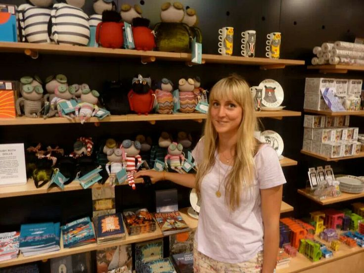 Jenny and Ruby Ruth dolls at the Southbank Centre shop!