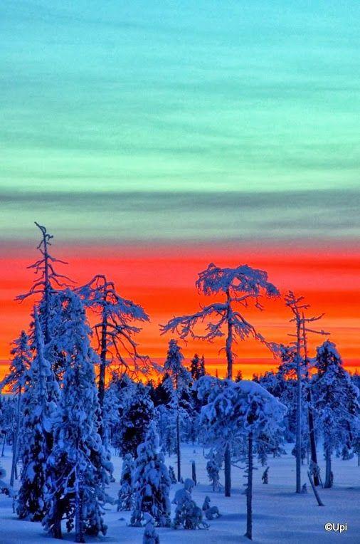 #polarnight #Finland