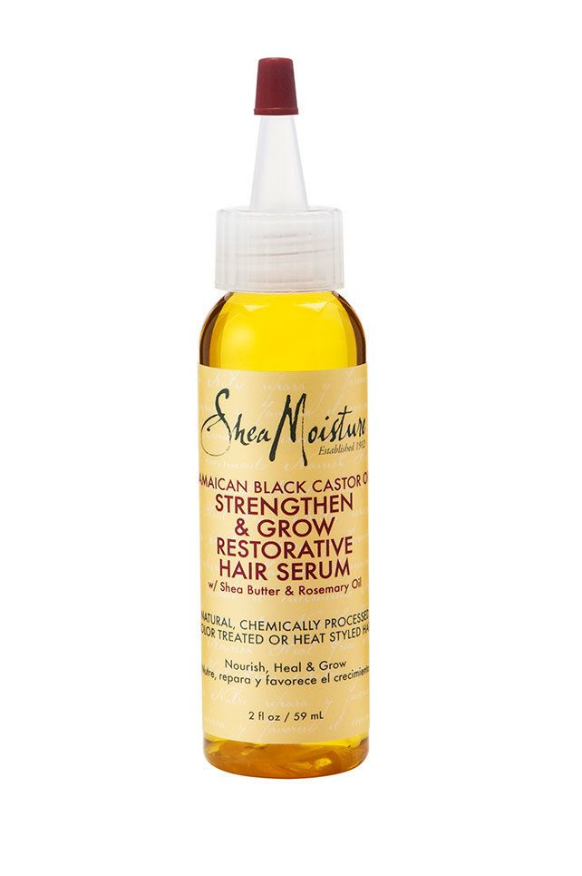 Shea Moisture Jamaican Black Castor Oil Strengthen, Grow & Restore Hair Serum 2oz