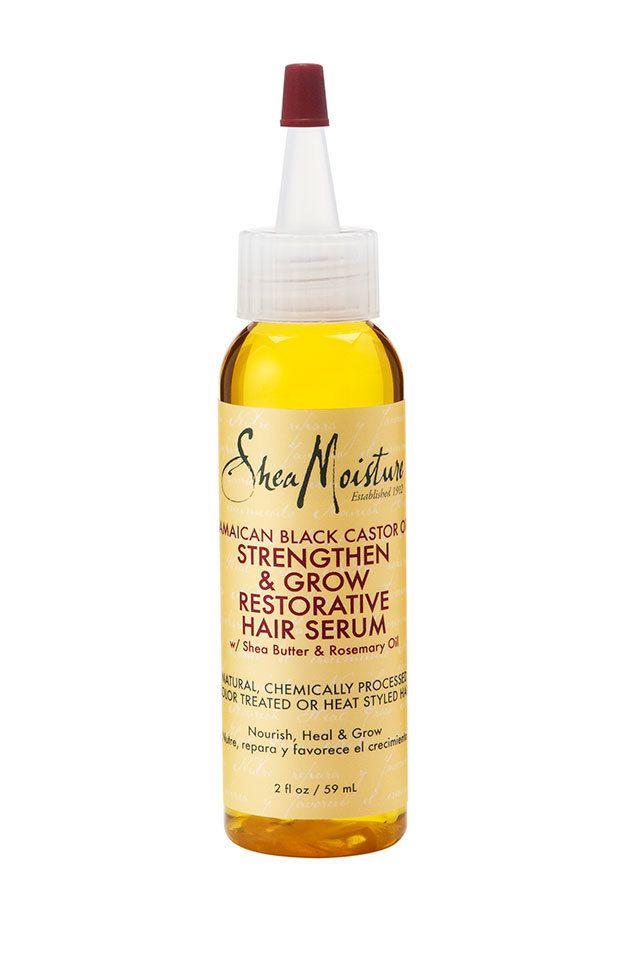Shea Moisture Jamaican Black Castor Oil Strengthen, Grow & Restore Hair Serum 2oz