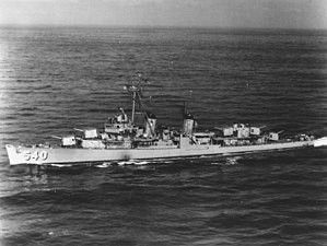 USS Twining (DD-540) Fletcher-class destroyer named for Rear Admiral Nathan C. Twining, (1869-1924).