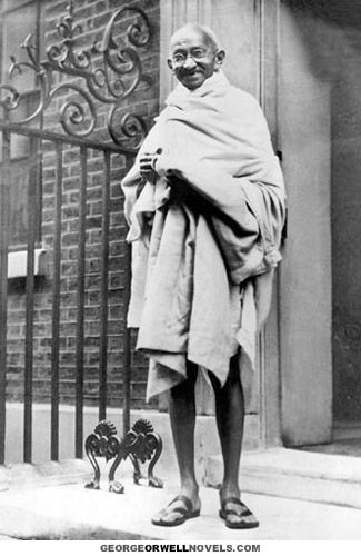 "a biography of mohandus karamchand gandhi an indian philosopher Mahatma gandhi prepares for a hunger strike, 1939 photo: rex  protest in line  with gandhi's philosophy of ""satyagraha"" or ""insistence on truth""  came in 1947 , it coincided with india's partition and the birth of pakistan."