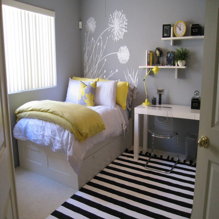 Bedroom Colours To Help You Sleep Black And White And Yellow Bedroom Bedroom Furniture Clipart Black And White Teal Accent Wall Bedroom: Best 25+ Small Desk Bedroom Ideas On Pinterest