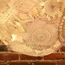 It's time to give the dated doily a facelift - and what better way than really highlighting the unique lace patterns in a lamp! It took me a few tries, ...